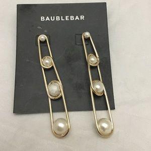 BaubleBar Jewelry - BaubleBar Safety Pin Earrings